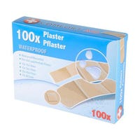 Plasters Hypoallergenic Pack of 100
