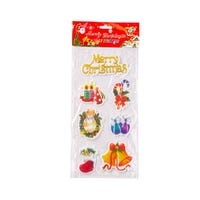 Assorted Christmas Figures Stickers