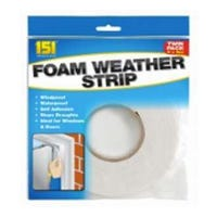 Foam Weather Strip 10m 2 Pack