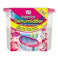 * 151 Interior Dehumidifier with Air Freshener Rose