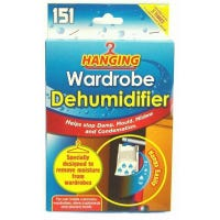 151 Hanging Wardrobe Dehumidifier