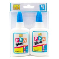 151 Adhesives PVA Glue 4 Pack