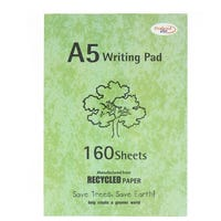 A5 160 Sheet Writing Pad