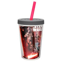 Star Wars The Force Awakens Insulated Cup with Straw 13oz