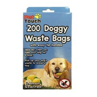 Doggy Waste Bags Lemon Scented 200 Bags
