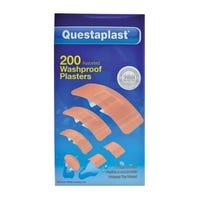 Questaplast Waterproof Plasters 200 Pack