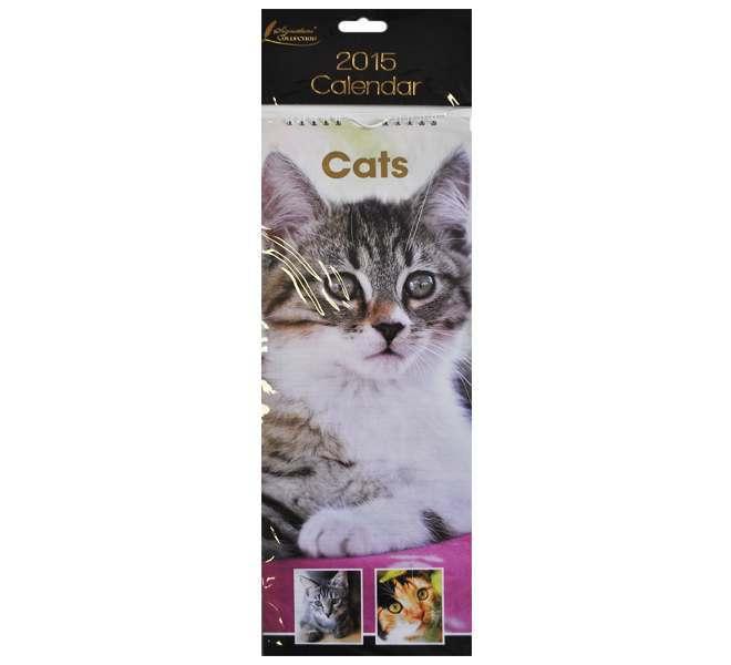 2015 Slim Calendar - Cats