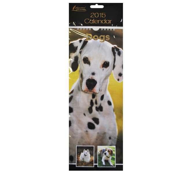 2015 Slim Calendar - Dogs