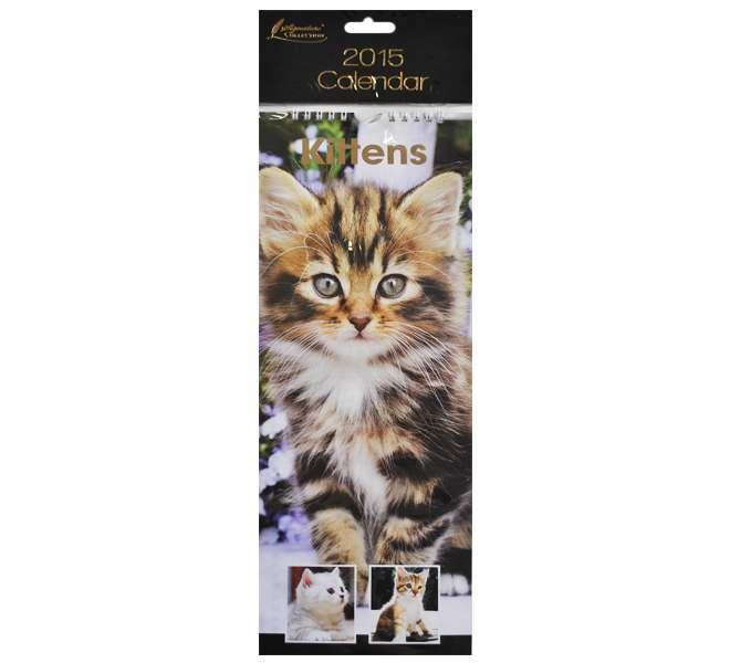 2015 Slim Calendar - Kittens
