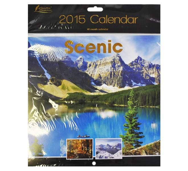 2015 Square Calendar - Scenic