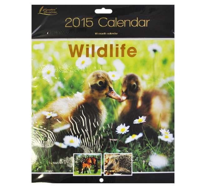 2015 Square Calendar - Wild Life