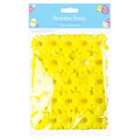 Easter Decorative Daises 20 Pack Yellow