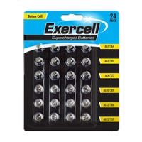 Button Cell Batteries 24 Pack