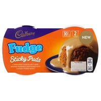 Cadbury Fudge Sticky Puds 2 x 95g