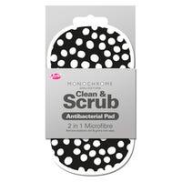 2 in 1 Antibacterial Scrubbing Pad in Spots Print