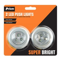 Super Bright LED Push Lights 2 Pack
