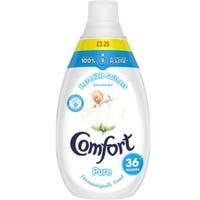 Comfort Fabric Conditioner Pure 36 Wash 540ml