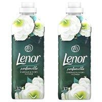 Lenor Emerald & Ivory Flower Bundle x2 37 Washes