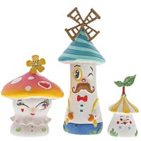 The World Of Miss Mindy  Lil Mushies Figurines