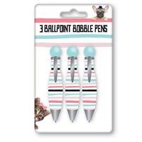 Bobble Pens 3 Pack