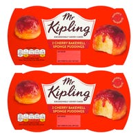 Mr Kipling Cherry Bakewell Sponge Pudding