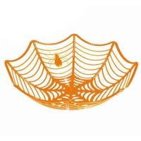 Cobweb Party Basket Orange
