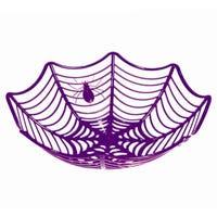 Cobweb Party Basket Purple