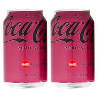 Coca Cola Zero Sugar Cherry Can 330ml