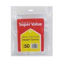 Super Value Heavy Duty Dessert Spoons