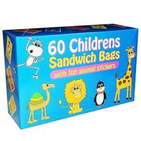 Kids Sandwich Bags 60 Pack