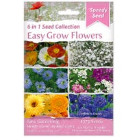 Easy Grow Flowers 6 in 1 Speedy Seed Collection