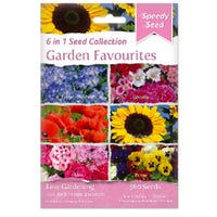 Garden Favourites 6 in 1 Speedy Seed Collection