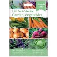 Garden Vegetables 6 in 1 Speedy Seed Collection