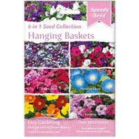 Hanging Baskets 6 in 1 Speedy Seed Collection