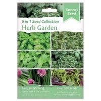 Herb Garden 6 in 1 Speedy Seed Collection