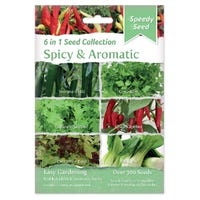 Spicy and Aromatic 6 in 1 Seed Collection