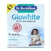 Dr Beckmann Glowhite Stain Remover 3 pack