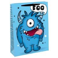 Blue Monster Medium Gift Bag