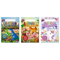 A4 Carry Colouring and Activity Book