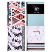 A5 Wired Notebook Assorted Designs