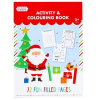 Tinsel Town Christmas Colouring and Activity Book