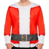 Christmas Santa Jumper Top for Adults