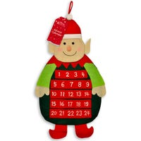 Advent Calendar with Pockets in Elf Design