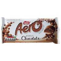 Nestle Aero Bubbly Milk Chocolate Bar 100g