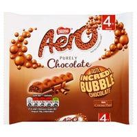 Nestle Aero Milk Bubble Chocolate Bars 4 Pack