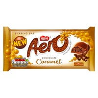 Nestle Aero Chocolate Caramel Sharing Bar 100g