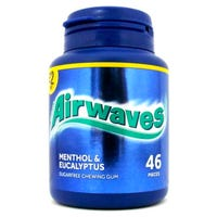 Wrigleys Airwaves Menthol and Eucalyptus Chewing Gum