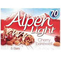 Alpen Light Cherry Bakewell 5 Pack
