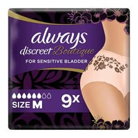 Always Discreet Boutique Incontinence Pants Medium 9 Pack