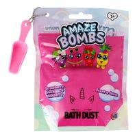 Amaze Bombs Bath Dust in Strawberry